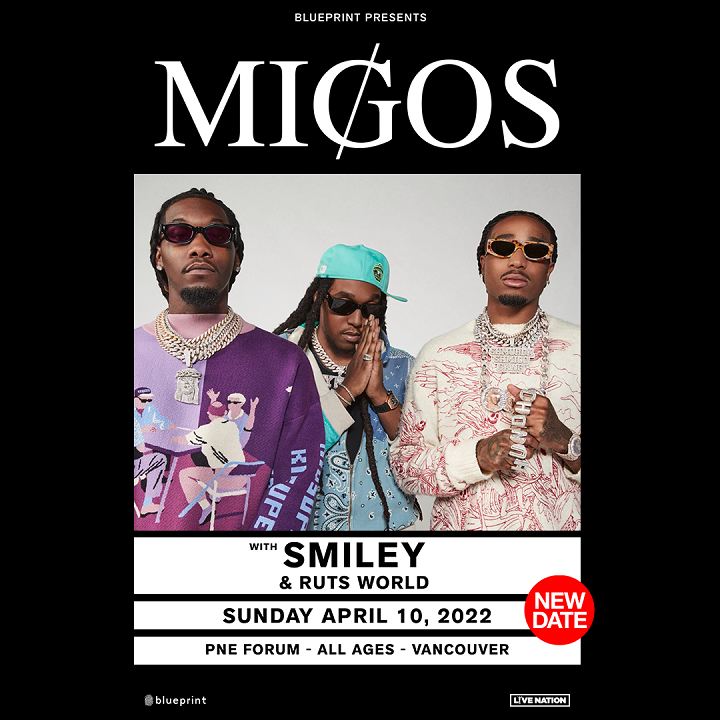 More Info for MIGOS - RESCHEDULED