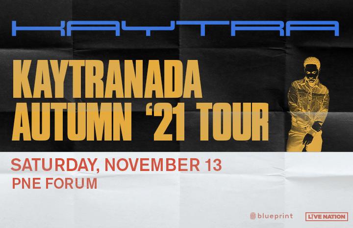 More Info for Kaytranada - Autumn '21 Tour