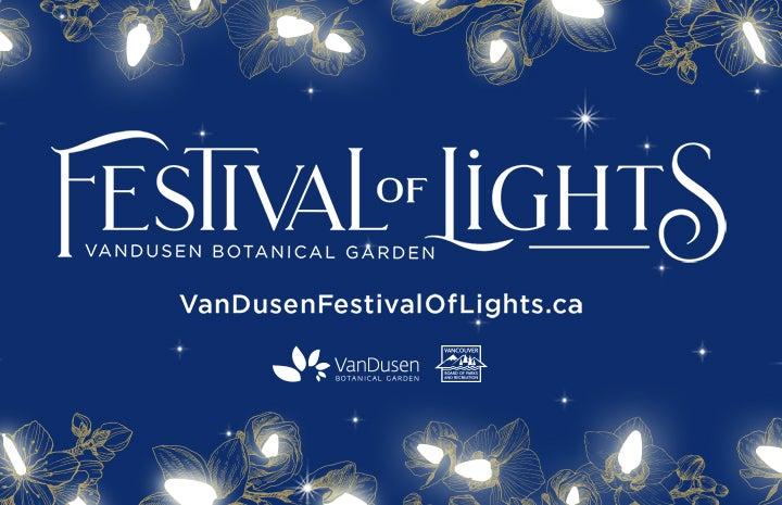 More Info for VanDusen Festival of Lights