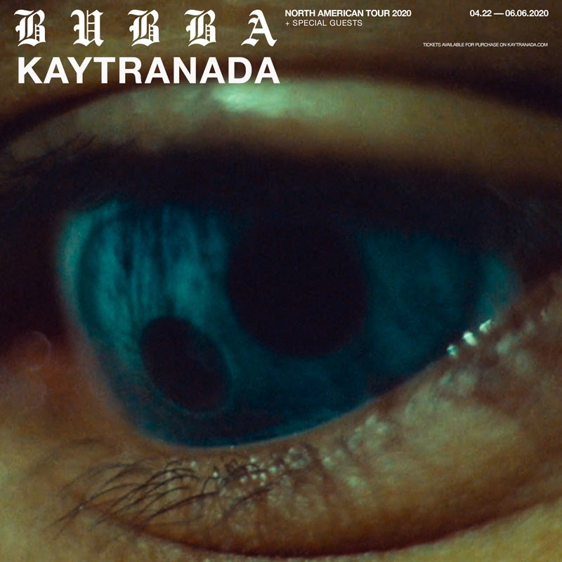 More Info for KAYTRANADA - Bubba North America Tour