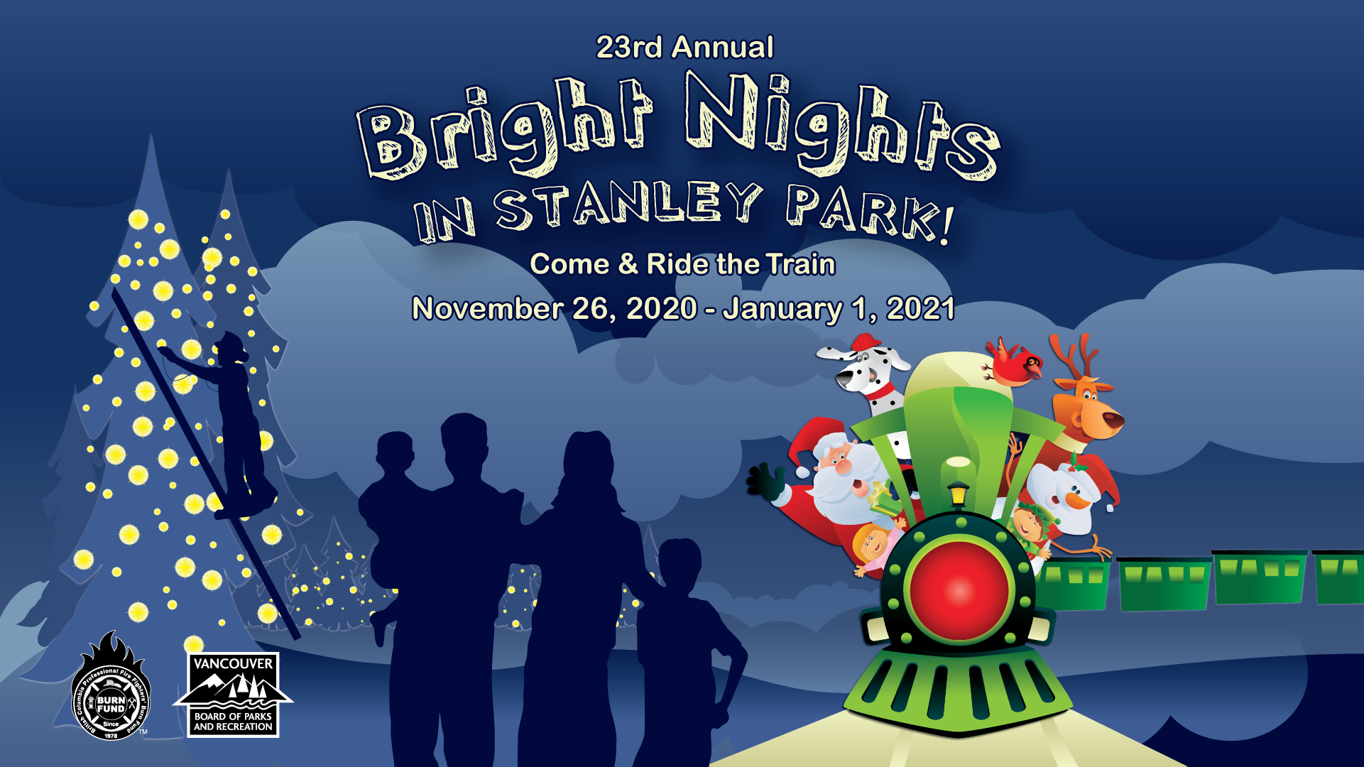 More Info for Bright Nights Christmas Train in Stanley Park