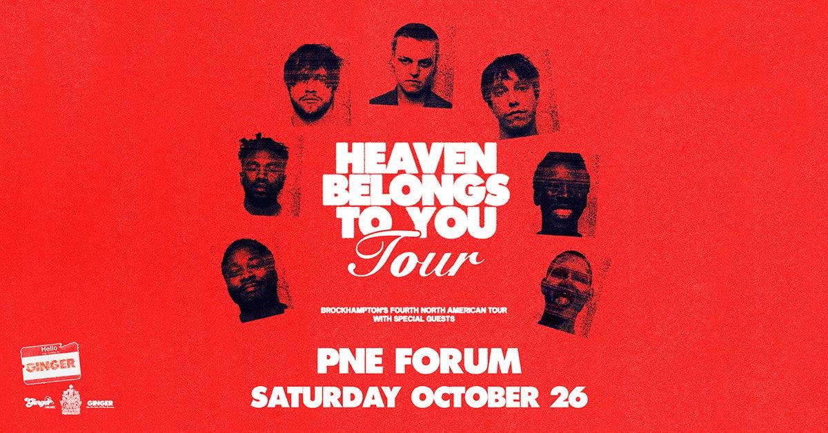 More Info for BROCKHAMPTON – Heaven Belongs To You Tour