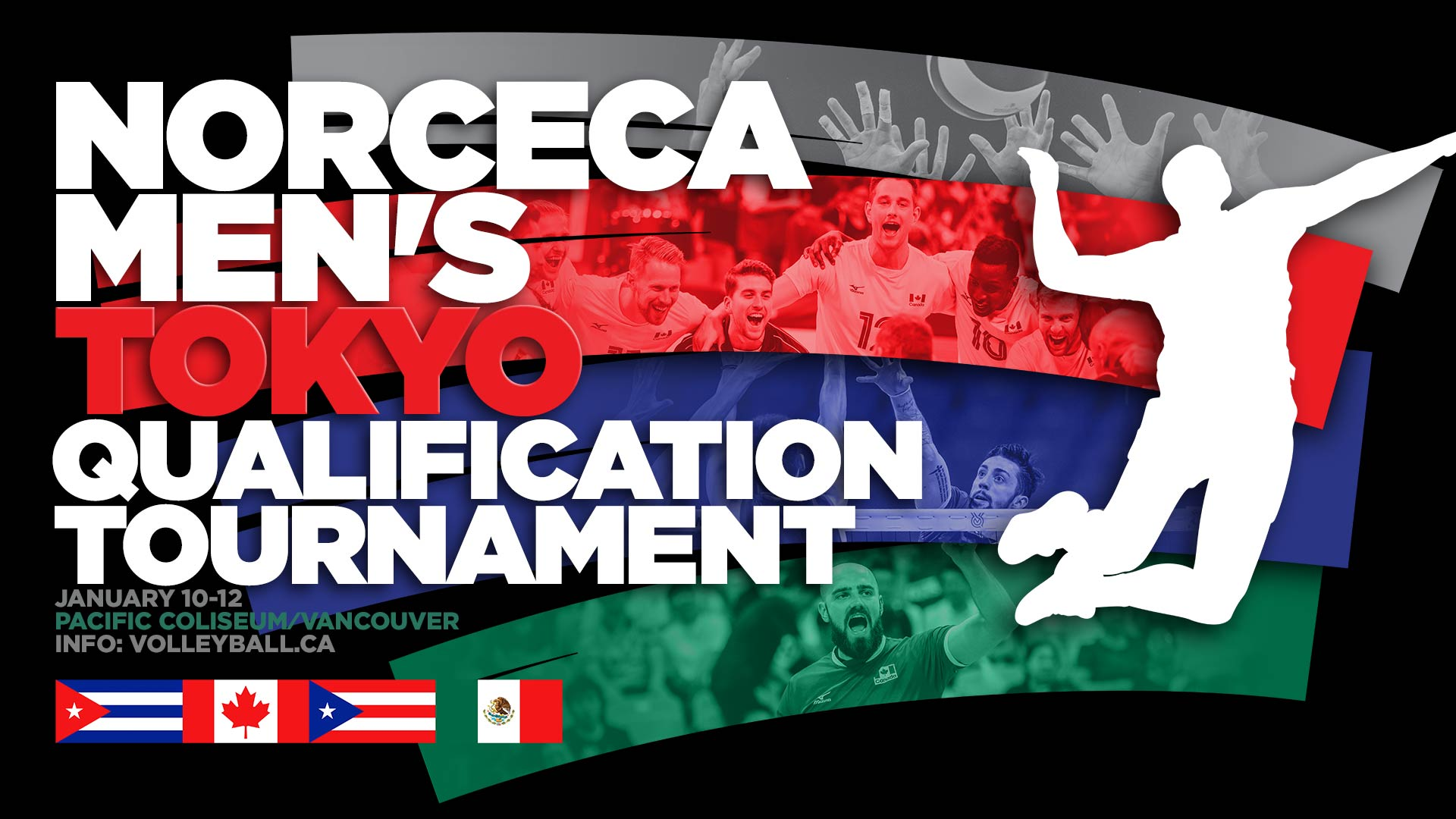 NORCECA Men's Tokyo Volleyball Qualification Tournament