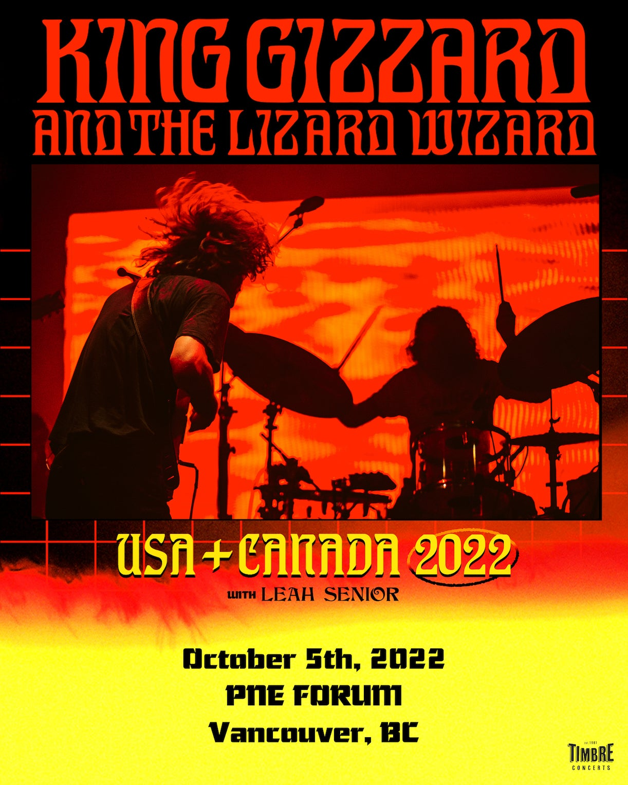 More Info for Timbre Concerts Presents: King Gizzard & The Lizard Wizard