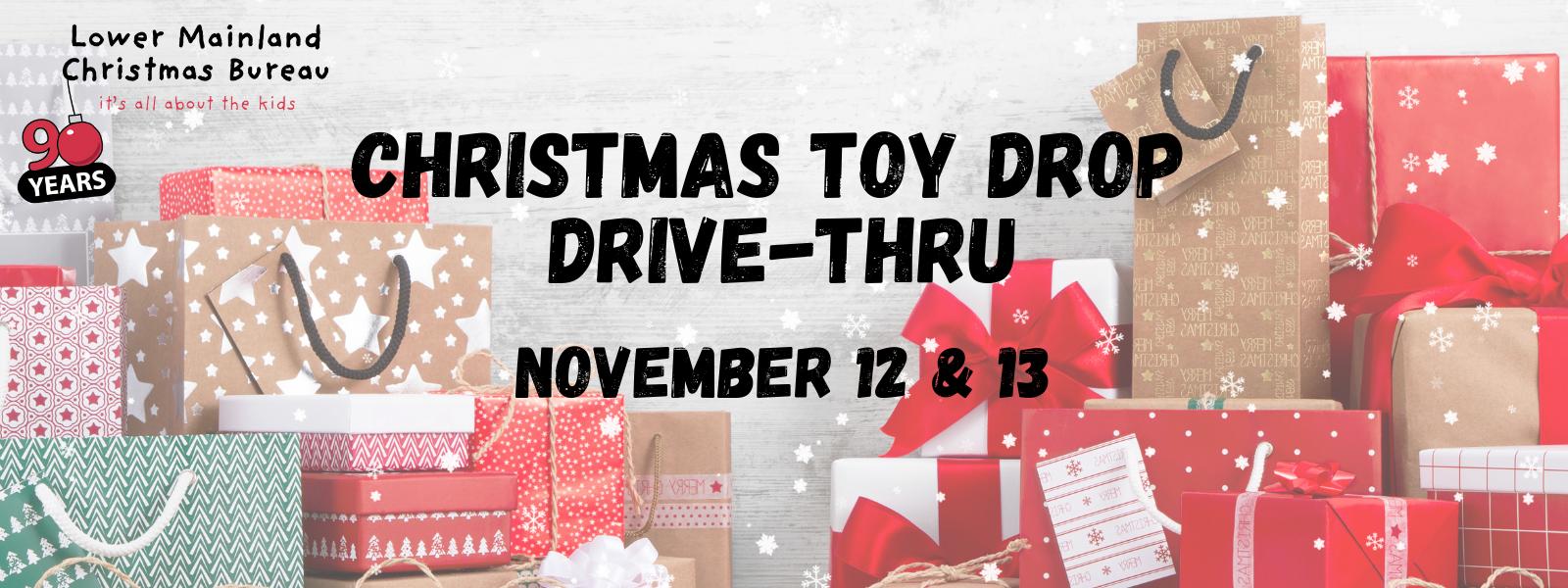 Christmas Toy Drop Drive-Thru