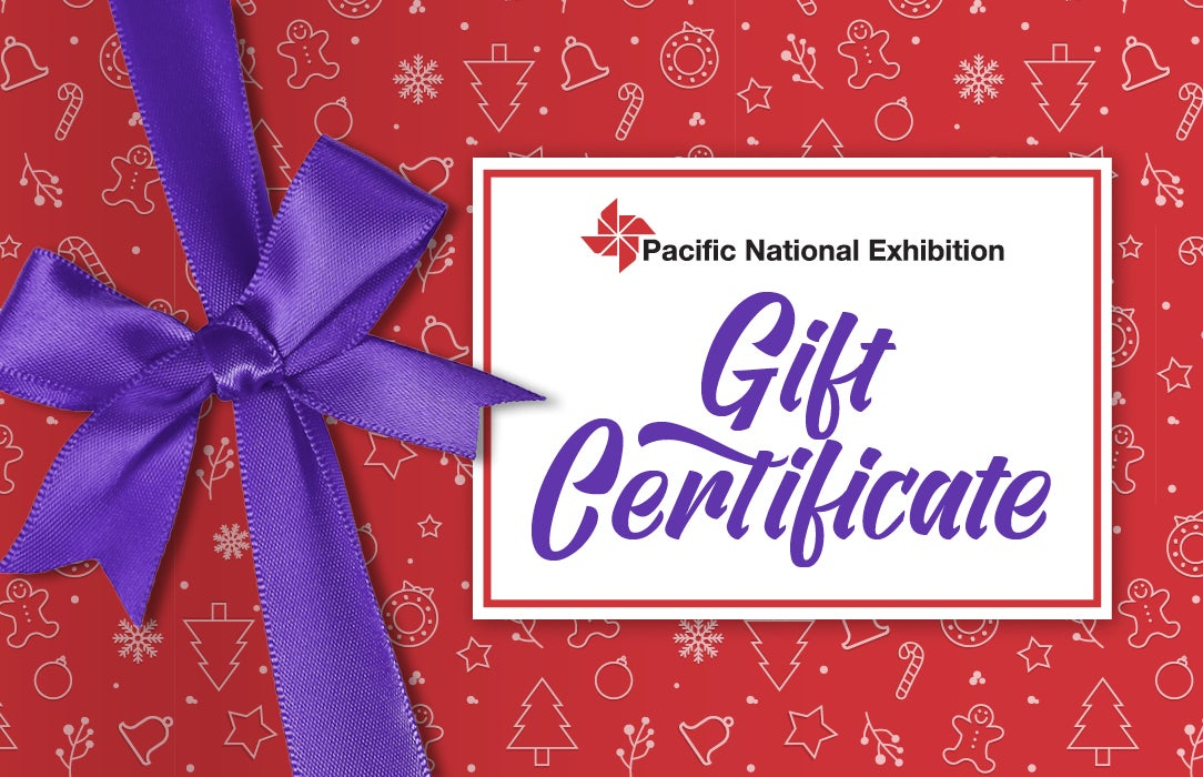More Info for PNE Events Gift Certificates