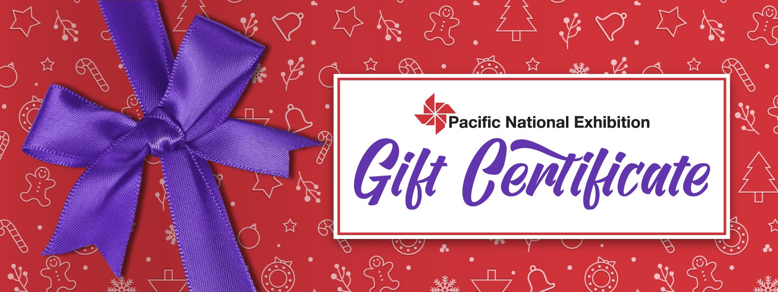 PNE Events Gift Certificates