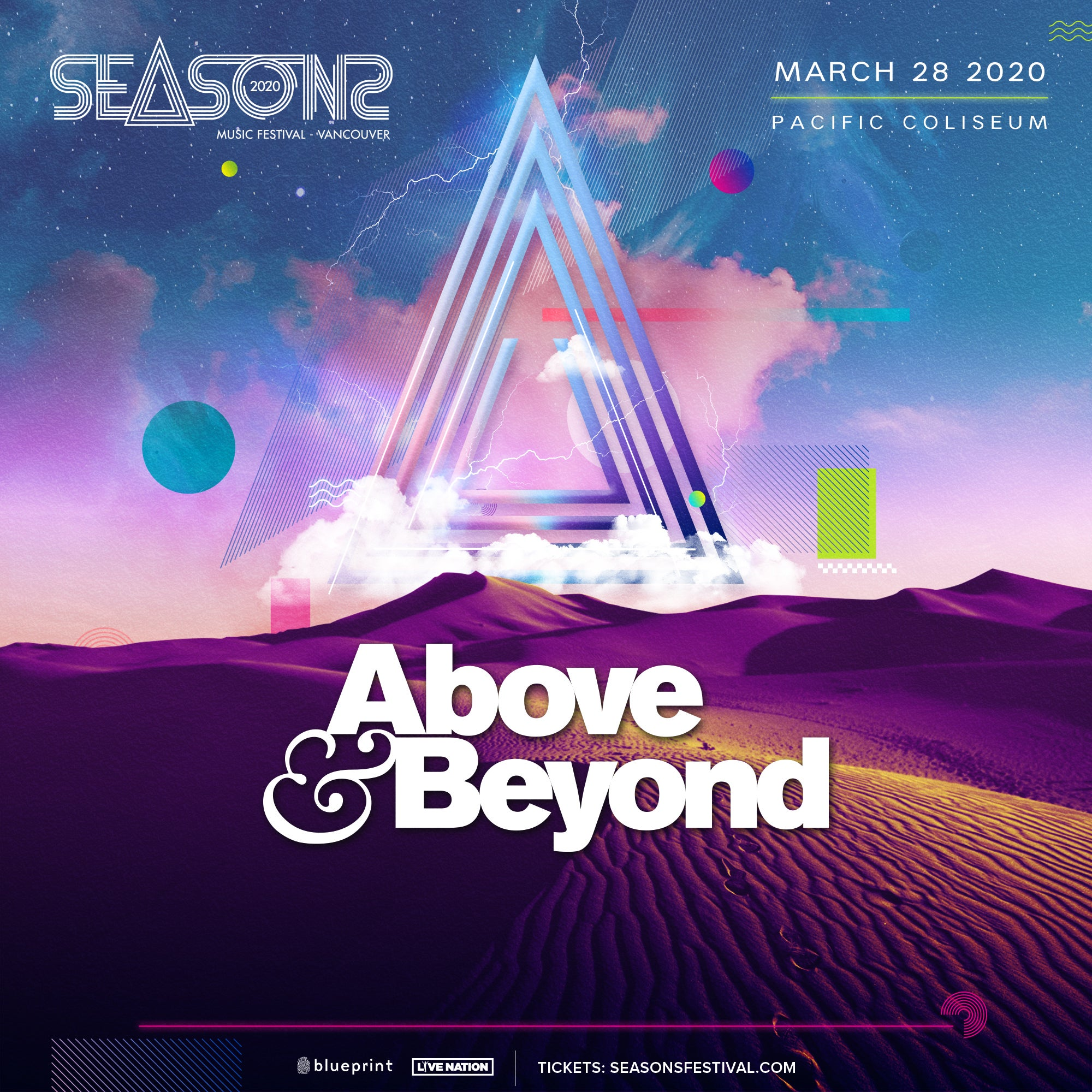 Seasons Festival 2020 Announces Headliner...