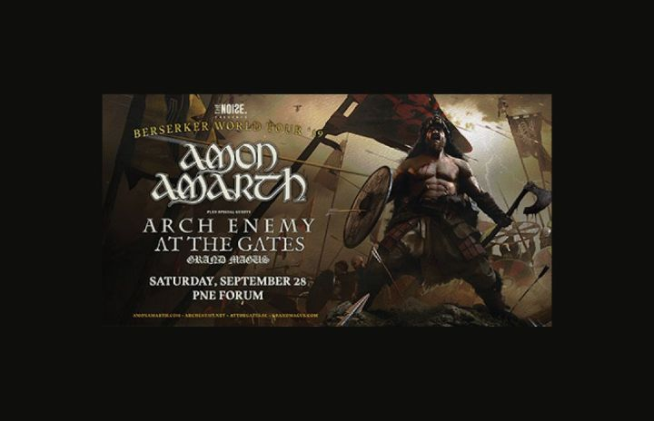More Info for Amon Amarth: Berserker Tour