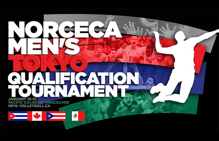 Pacific Coliseum to Host NORCECA Men's Tokyo Qualification Tournament