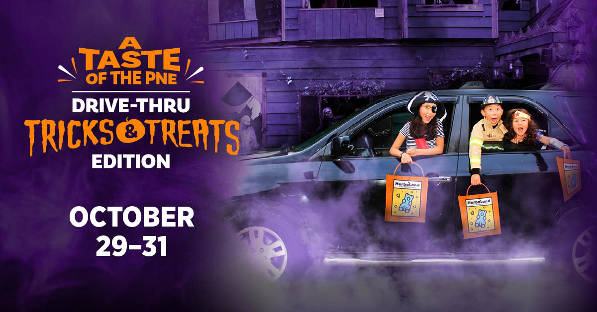A Taste of the PNE: Drive-Thru Tricks & Treats Edition